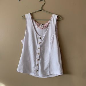 Anthropologie sleeveless blouse